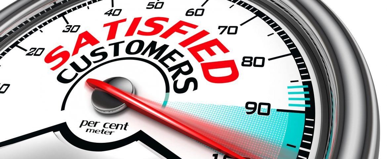 More satisfied customers